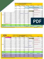 Academic Calendar (b.ed) - 2015(Revised), 30.12.2014