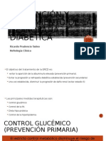 Prevencio y Tratamiento de Nefropatia Diabetica