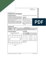 Device datasheet for CD4021