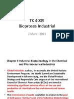 TK 4009 Bioproses Industrial 3 Maret 2015