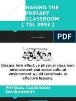 Managing the Primary Ppt