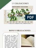 Presentacion Bonos y Obligaciones