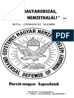 Csobanczi Elemer 1 Horvat-magyar Kapcsolatok