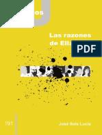 CJ 191, Las Razones de Ellacuría - José Sols Lucia