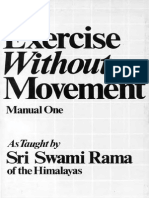 Exercise Without Movement by Swami Rama