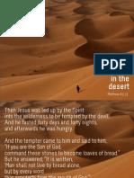 Temptation in the Desert