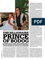 The Billionaire of Bodog - Living the Dream
