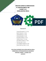 laporan kunjungan perusahaan+keselamatan mARET