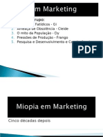 miopia em marketing 40 anos
