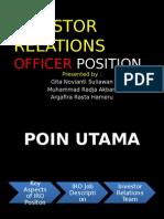 Investor Relations Officer Position (BAB 2).pptx