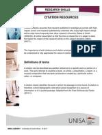 Citation Resources