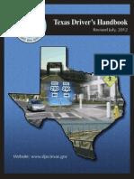 Drivers Handbook Texas