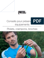 Entretien Piolets Crampons Broches FR