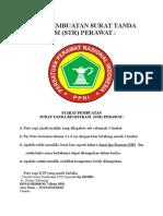 Syarat Pembuatan Surat Tanda Registrasi