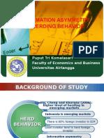 Information Asymmetry and Herding Behavior