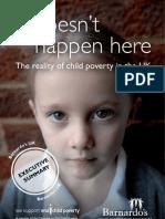 [Barnardos Free Docs.]Poverty Executive Summary