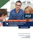 Informator 2015 - Studia I Stopnia - Wyższa Szkoła Bankowa w Szczecinie