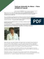 """Antonella De Ninno e """"La grammatica dell'acqua"""" al MedCam 2015"""