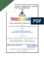Tender Document NLC