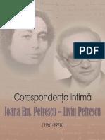 Ioana Em. Petrescu, Liviu Petrescu, Corespondenta CD