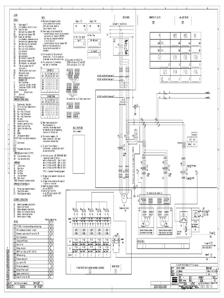 Diagrama Electronico de Compresor Atlas Copco Gb 4a