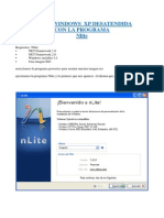 Crear Windows Xp Desatendida con Nlite