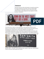 Billboard Design Research