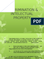 Descrimination& Intelectual Property.ppt