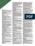 Civil Procedure Attack Sheet