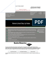 Bank Of America Market Link Step Up Notes.doc