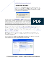 Windows XP - So Sicher Wie Nie