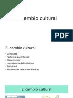 El Cambio Cultural