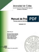 Tecnologías de Información I - Manual de Prácticas v1_0