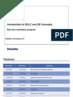 SDLC and SE Concepts