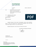 231 VI.4 0315 - Perdir No. 12 Thn 2015 Ttg Struktur Organisasi