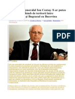 Interviu Cu Generalul Ion Costaș