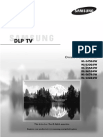 Samsung DLP TV HL Series Manual