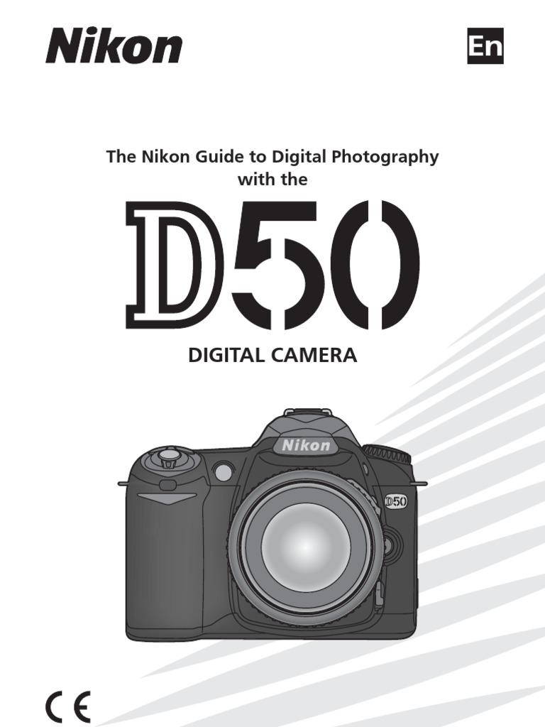 nikon d50 manual exposure photography camera rh scribd com nikon d50 manual pdf download nikon d50 manual online