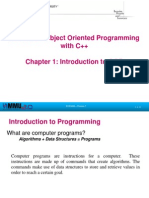 Chapter 01-Introduction to OOP
