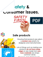 consumer & safety issues