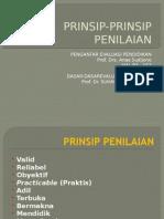 03a Prinsip-prinsip Penilaian