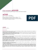ACHAB s.r.l. - Cv Aziendale