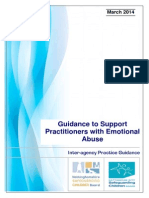 Emotional Abuse Practice Guidance - March 2014