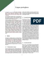 Lingua Portoghese