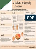 Clinical Audit on Diabetic Retinopathy Screening