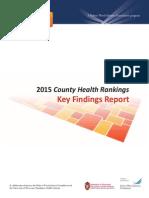 2015 County Health Rankings