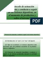 ]PROTOCOLO LESIONES DEPORTIVAS