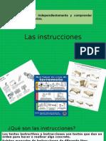 La carta y Las Instrucciones