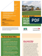 Field Guide for Controlling Silica Dust Exposure on Asphalt Pavement Milling Machines