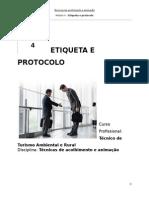 Etiqueta e Protocolo Manual